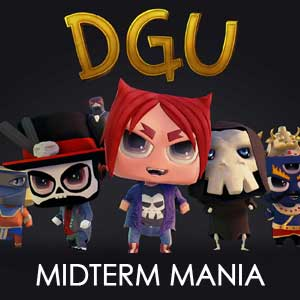 D.G.U. - MIDTERM MANIA (DLC) - STEAM - PC - WORLDWIDE
