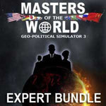 MASTERS OF THE WORLD EXPERT BUNDLE - STEAM - PC - WORLDWIDE