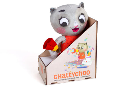 PISICUTA CU SURPRIZE - CHATTY CHOO - CHALK AND CHUCKLES (CCPPL052)