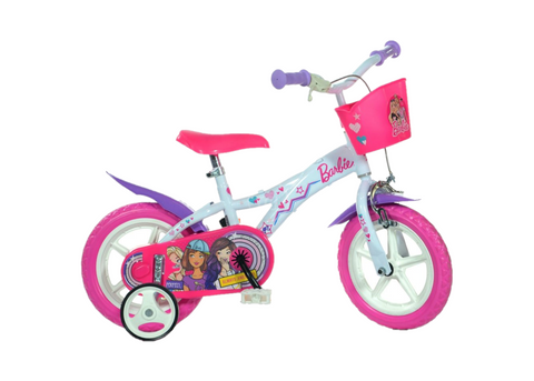 "BICICLETA COPII 12"" - BARBIE DREAMS - DINO BIKES (612GL-BA)"