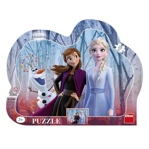 PUZZLE CU RAMA - FROZEN II (25 PIESE) - DINO TOYS (311398)
