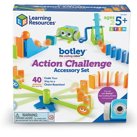 SET 41 ACCESORII - ROBOTELUL BOTLEY - LEARNING RESOURCES (LER2937)