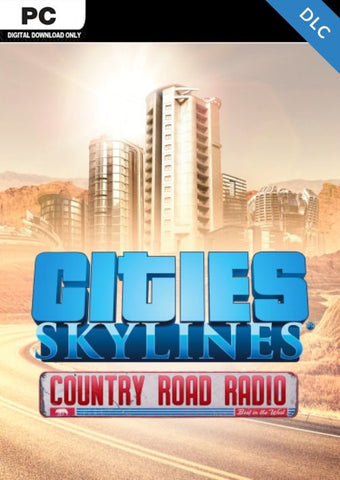 CITIES: SKYLINES - COUNTRY ROAD RADIO (DLC) - STEAM - PC