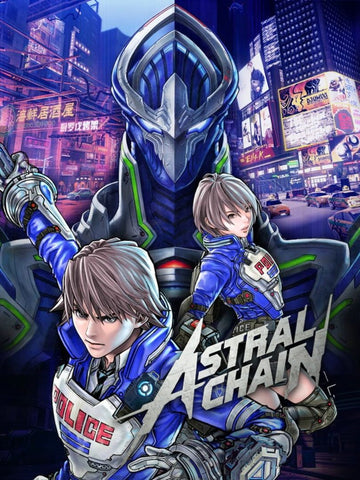 ASTRAL CHAIN - NINTENDO SWITCH - OFFICIAL WEBSITE - MULTILANGUAGE - EU - PC