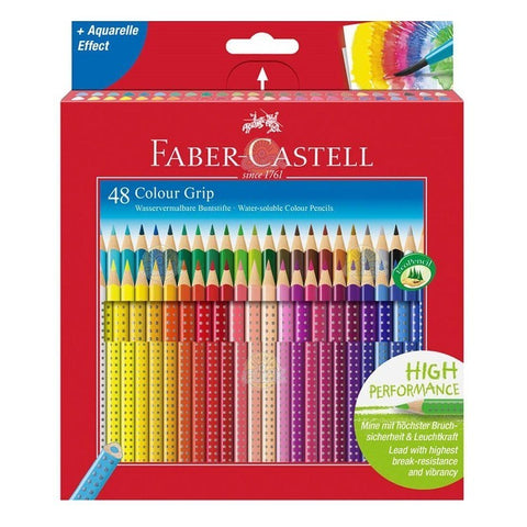 CREIOANE COLOR FABER-CASTELL GRIP SET 48 CULORI - FC112449