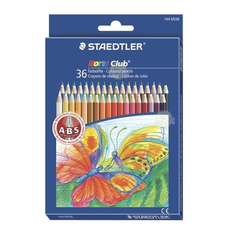 CREIOANE COLOR STAEDTLER 36 CULORI NORIS - ST-144-ND36