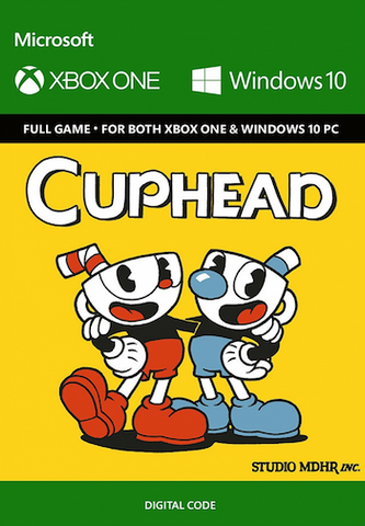 CUPHEAD XBOX ONE / WINDOWS 10 - XBOX LIVE - WORLDWIDE - MULTILANGUAGE - XBOX ONE / PC