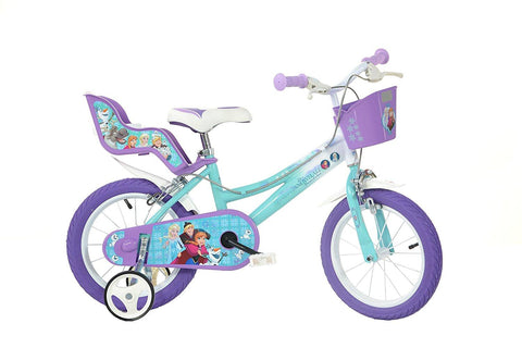 BICICLETA COPII 14'' - FROZEN MOVIE - DINO BIKES (146R-FZ2)