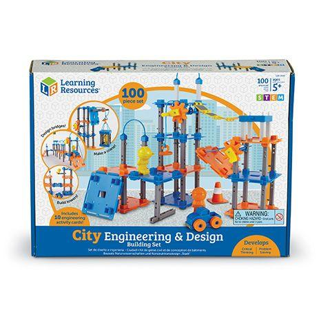 SET STEM - CONSTRUIESTE ORASELUL - LEARNING RESOURCES (LER2843)