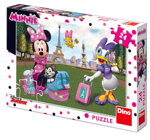 PUZZLE - MINNIE SI DAISY (24 PIESE) - DINO TOYS (351561)