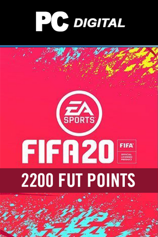 FIFA 20 - 2200 FUT POINTS - ORIGIN - WORLDWIDE - MULTILANGUAGE - PC