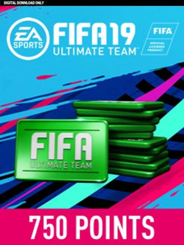 FIFA 20 - 750 FUT POINTS UK - PSN - PLAYSTATION - EN - EU