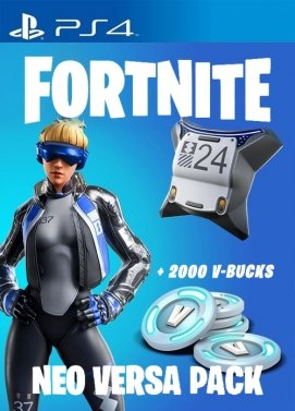 FORTNITE NEO VERSA + 2000 V-BUCKS (PS4) - PSN - MULTILANGUAGE - EU - PLAYSTATION Libelula Vesela