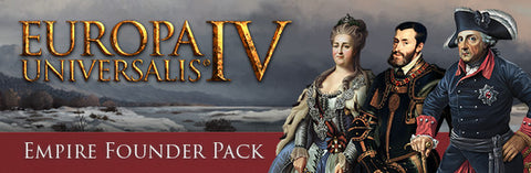 EUROPA UNIVERSALIS IV - EMPIRE FOUNDER PACK (DLC) - STEAM - PC