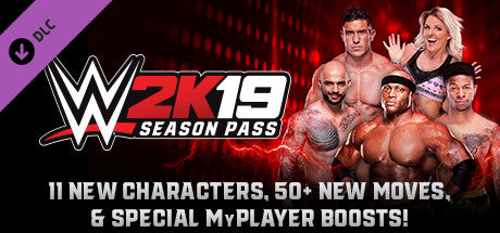 WWE 2K19 - SEASON PASS (DLC) - STEAM - PC - EU