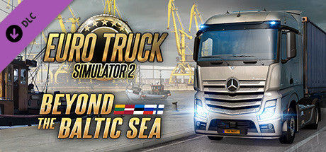 EURO TRUCK SIMULATOR 2 - BEYOND THE BALTIC SEA - STEAM - PC / MAC - WORLDWIDE