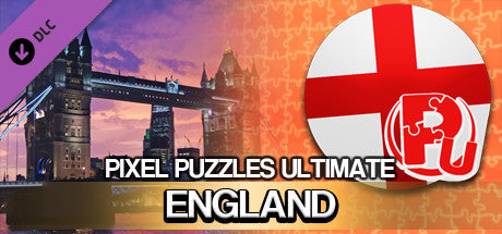 PIXEL PUZZLES ULTIMATE - PUZZLE PACK: ENGLAND (DLC) - STEAM - PC