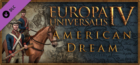 EUROPA UNIVERSALIS IV - AMERICAN DREAM (DLC) - STEAM - PC / MAC