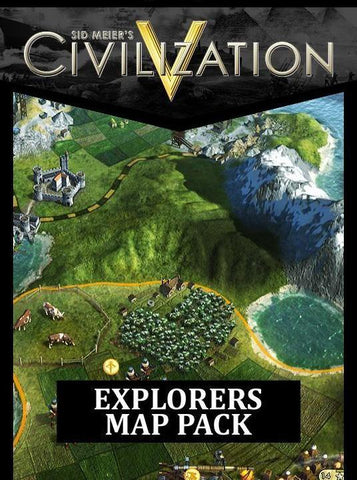 SID MEIER'S CIVILIZATION V - EXPLORERS MAP PACK (DLC) - STEAM - PC - EU