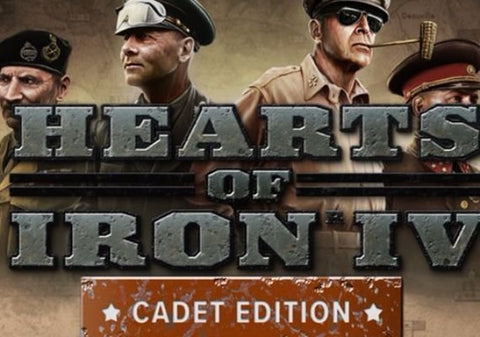 HEARTS OF IRON IV (CADET EDITION) UNCUT EU - STEAM - MULTILANGUAGE - EU - PC