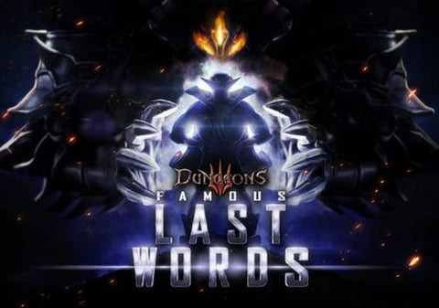 DUNGEONS 3 - FAMOUS LAST WORDS - PSN - MULTILANGUAGE - EU - PLAYSTATION - PS4