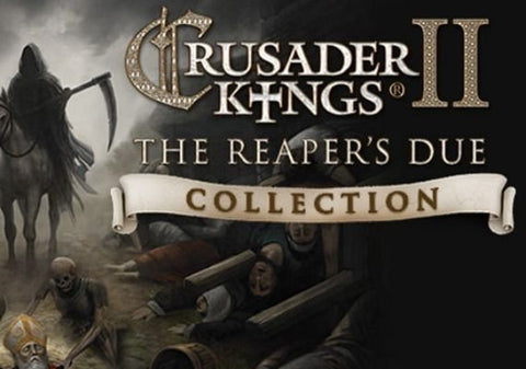 CRUSADER KINGS II - THE REAPERS DUE COLLECTION (DLC) - STEAM - PC - EMEA, US Libelula Vesela Jocuri video