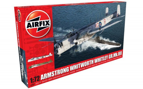 KIT CONSTRUCTIE AIRFIX ARMSTRONG WHITWORTH WHITLEY MK.VII SCARA 1:72 (9009)