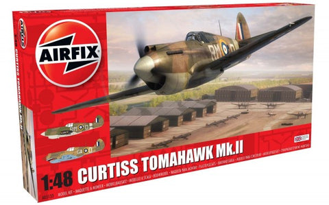 KIT CONSTRUCTIE AIRFIX AVION CURTISS TOMAHAWK MK.II 1:48 (5133)