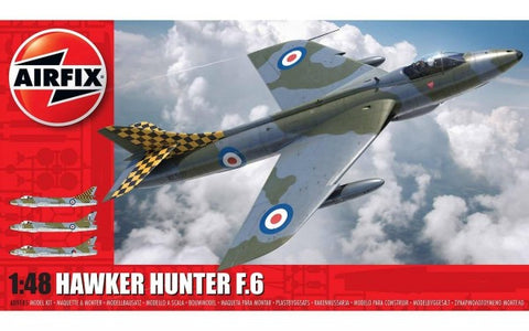 KIT CONSTRUCTIE  AVION HAWKER HUNTER F6 1:48 - AIRFIX (AF09185)
