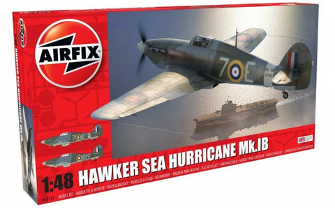 KIT CONSTRUCTIE AIRFIX AVION HAWKER SEA HURRICANE MK.IB 1:48 (5134)