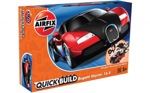 KIT CONSTRUCTIE BUGATTI VEYRON BLACK AND RED - AIRFIX (AFJ6020)