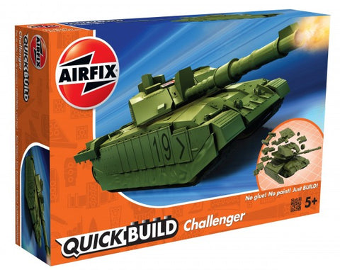KIT CONSTRUCTIE QUICK BUILD CHALLENGER TANK - AIRFIX (AFJ6022)