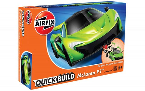 KIT CONSTRUCTIE QUICK BUILD MCLAREN P1 GREEN - AIRFIX (AFJ6021)