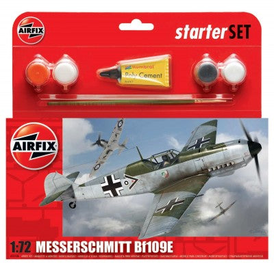 KIT CONSTRUCTIE AVION MESSERSCHMITT BF109E (55106)