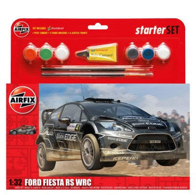 KIT CONSTRUCTIE SI PICTURA MASINA FORD FIESTA RS WRC - AIRFIX (AF55302)