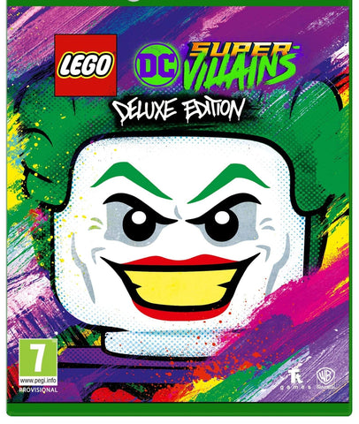 LEGO: DC SUPER-VILLAINS DELUXE EDITION - STEAM - PC - EU