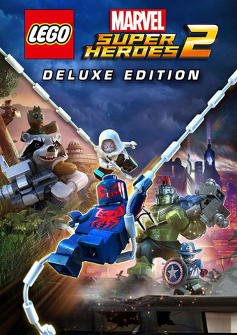 LEGO: MARVEL SUPER HEROES 2 - DELUXE EDITION - STEAM - PC - WORLDWIDE