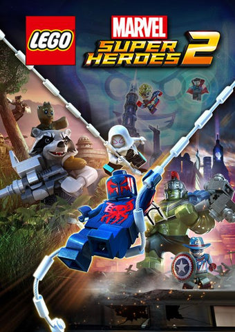 LEGO: MARVEL SUPER HEROES 2 - STANDARD EDITION - STEAM - PC - WORLDWIDE Libelula Vesela Jocuri video
