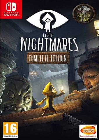 LITTLE NIGHTMARES COMPLETE EDITION - NINTENDO SWITCH - OFFICIAL WEBSITE - MULTILANGUAGE - EU - PC