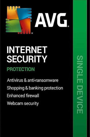 AVG INTERNET SECURITY (1 USER, 4 YEARS) - OFFICIAL WEBSITE - MULTILANGUAGE - WORLDWIDE - PC