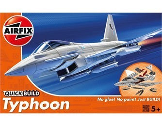 MACHETA AVION DE CONSTRUIT EUROFIGHTER TYPHOON - AIRFIX (AFJ6002)