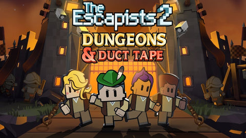 THE ESCAPISTS 2 - DUNGEONS AND DUCT TAPE (DLC) - STEAM - PC - EMEA, US