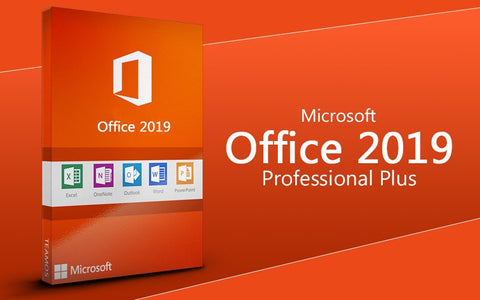 MICROSOFT OFFICE PROFESSIONAL 2019 PLUS 1 PC - OFFICIAL WEBSITE - MULTILANGUAGE - WORLDWIDE - PC