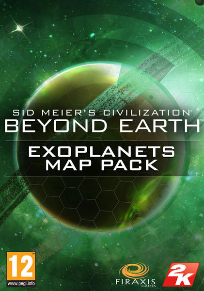 SID MEIER'S CIVILIZATION BEYOND EARTH EXOPLANETS MAP PACK (MAC) (DLC) - WORLDWIDE