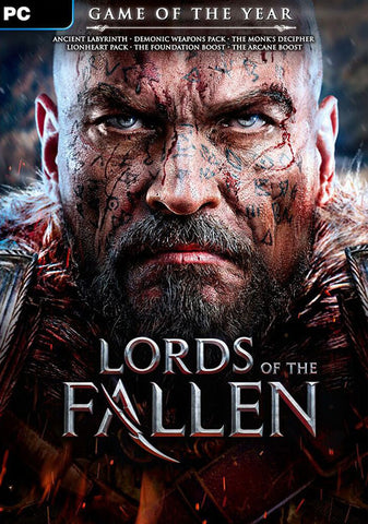 LORDS OF THE FALLEN - GAME OF THE YEAR (GOTY) - STEAM - PC - WORLDWIDE