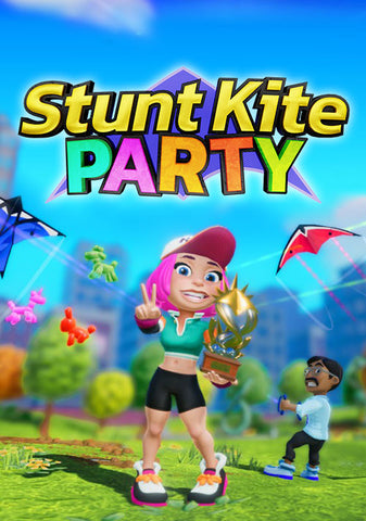STUNT KITE PARTY - STEAM - MULTILANGUAGE - EMEA / ASIA Libelula Vesela Jocuri video