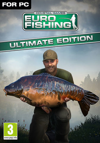 EURO FISHING (ULTIMATE EDITION) - STEAM - PC