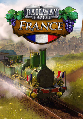 RAILWAY EMPIRE - FRANCE (DLC) - STEAM - MULTILANGUAGE - ASIA / EMEA - PC