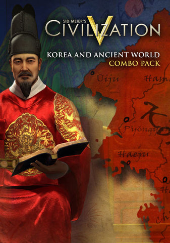 SID MEIER'S CIVILIZATION V - KOREA AND ANCIENT WORLD COMBO PACK - STEAM - PC - EU