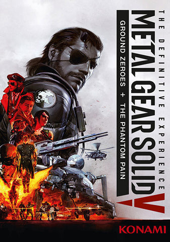 METAL GEAR SOLID V: THE DEFINITIVE EXPERIENCE EMEA - STEAM - PC - EMEA - MULTILANGUAGE Libelula Vesela Jocuri video
